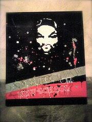 Pintar graffiti. Alexys Flash