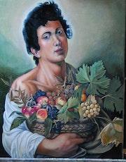 Young Obstkorb. Rafael Del Santo