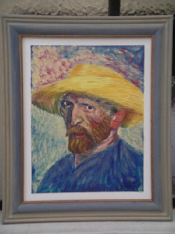 Auto Port. Brunat Daniel Artiste Peintre Amateur