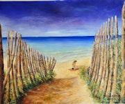Lighthouse Beach a la ballena isla de Ré. Marc Lejeune