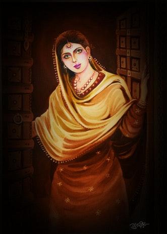 Pintura. Artist Gurdishpannu Gurdishpannu