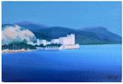 Côte d'Azur, griego Villa. Beaulieu sur Mer. Faccio