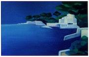 La Costa Azul, un pequeño arroyo en Beaulieu Sur Mer. Faccio