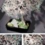 Mighty Oak Bonsai, arbre sculpture métallique. Tree Sculpture By Sal Villano