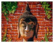 Original tailandés de arte (artesanía obra maestra de punto de cruz / patrón de costura). Joda'S Art