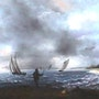Storm on the coast. Jean Claude
