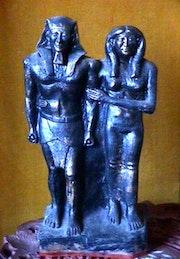 Kefrén y su esposa. Jean Claude