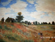Fields of Poppies Claude Monet (Kopie). Jean Claude