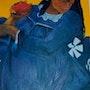 Frau mit Mango Gauguin (Kopie). Jean Claude