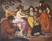 Drunks era to study the painting of Velazquez.