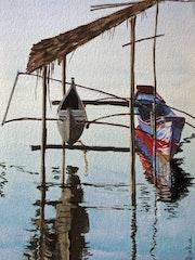 Reflections from Sinabang Prahus. Nurlisa Kosewahr