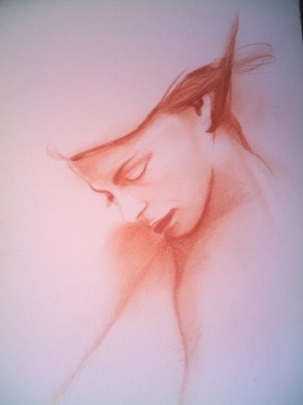 Portrait de femme. Patrick Andre Patrick Andre