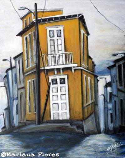 Yellow House, Valparaiso (29). Mariana Flores Mariana Flores