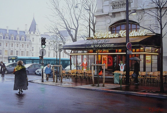 The Cafe at Old Chatelet ». Thierry Duval Thierry Duval