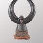 Cimier dan. Galerie Noir d'Ivoire
