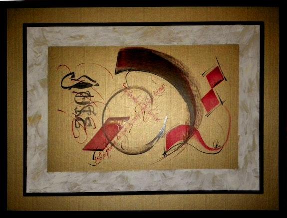 Calligraphie moderne. Boris Mischler Boris Mischler