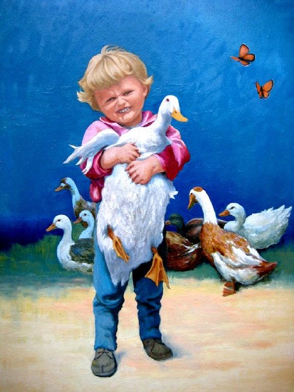 The child duck. François Tabak François Tabak