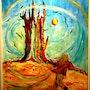 Tower-tree (le refuge dans la tourmente) d'après Stephen King. Alain Delory