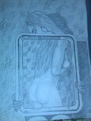 La fille miroir. Eric Grondin
