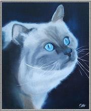 Persian blue.