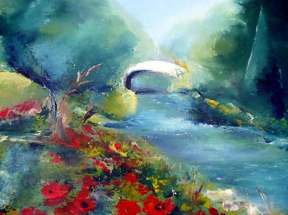River von Mohn. M. Gornay Martine Gornay