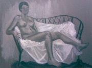 Female Nude 024. Monika Steel
