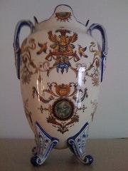 Porzellan-Vasen aus Gien 1875. Erico Cruz