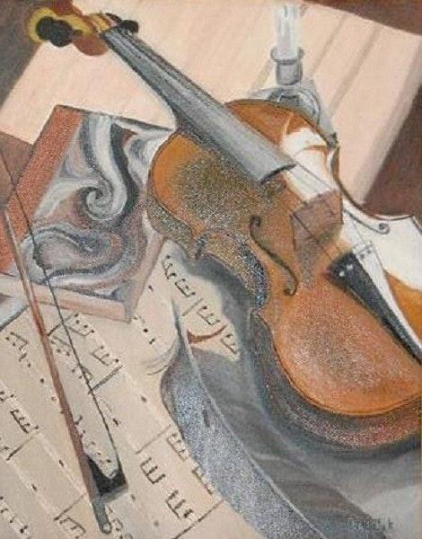 The violin karine. Patrick Incognito Patrick Incognito