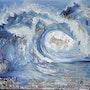 The wave. Véronique M. Bonnand Vmb