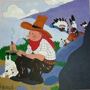 Hergé's Tintin.