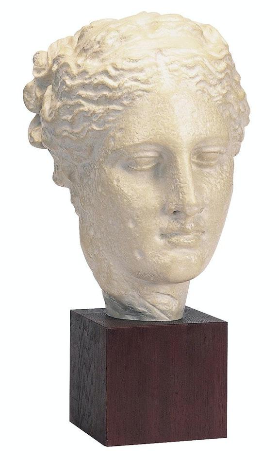 Head of Hygeia. Atelier de moulage du Louvre Réunion des Musées Nationaux