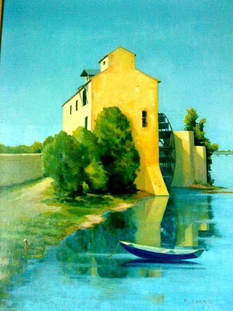 Le moulin d'Ay. François Tabak François Tabak