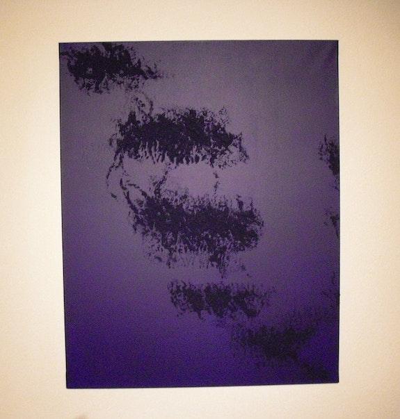 Dark blue schwimmende. Rita Pacifici Perraudin Sylvie Haefliger
