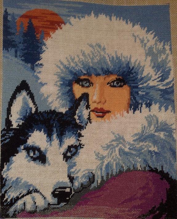 Winter beauty. Particular Viorela-Mihaela Burlacu