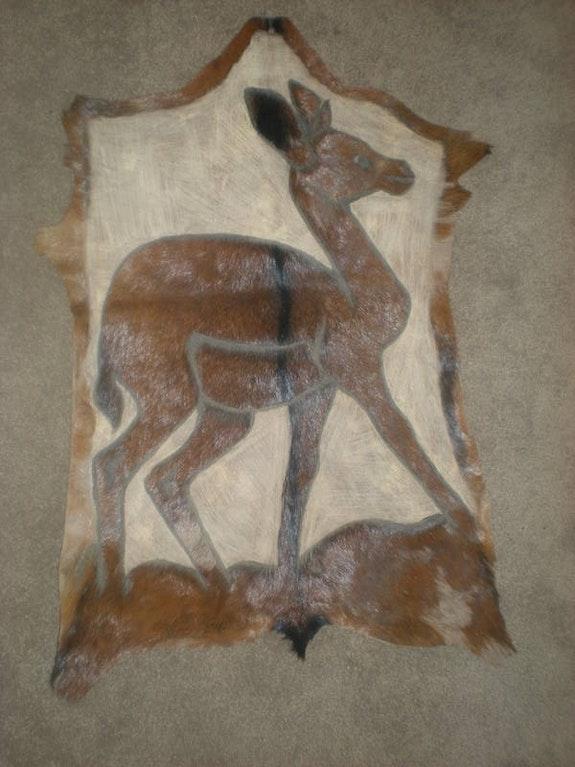 African animal art.  Akech Juach
