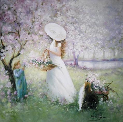 Manzanos Blooming. Danielle Gagnon Danielle Gagnon