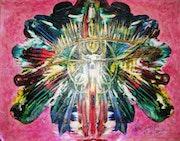 Médium pintura. Uma Mukanda