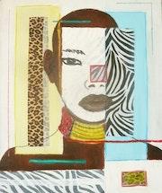 Collage de leopardo puerta abierta de mi estudio todos los días con cita previa, 06. Joe Johnson