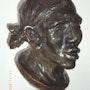 Escultura de bronce. Marcinek