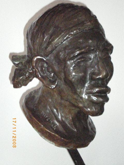 Sculpture en bronze. Marcinek Marcinek