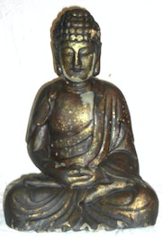 Buddha black and gold. Dragonasie Sarl