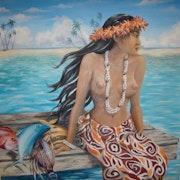 Vahine de Tahití. Nadine Halard