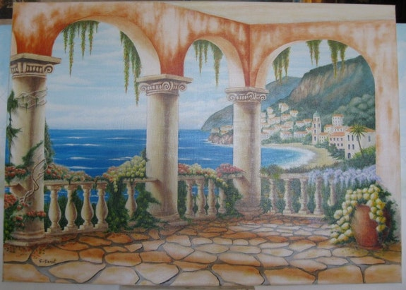 Sea view. C. Cenot C. Poincenot