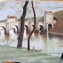 Pont de Nantes / Corot.