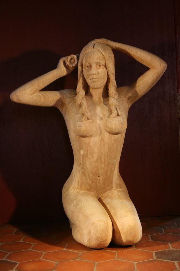 Statue, Aurelie. Satine Jean Marie Delestre