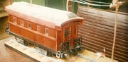 Replica of railway wagons. Artycosas