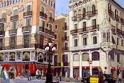 Ramblas de Barcelone.