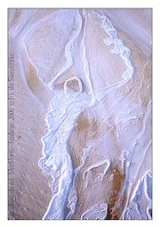 The dancer salt. Dead sea, jordan. 2001.