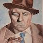 Portrait von Jean Gabin. Bernard Sannier