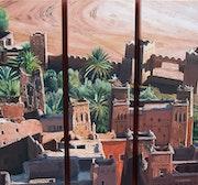 Ksar Ait Ben Haddou (zwischen Marrakesch und Ouarzazate befindet). François Xavier Dekimpe